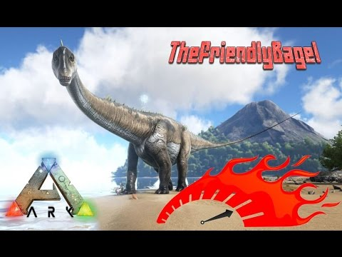 Ark Max Speed! | Diplodocus