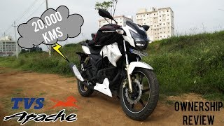 20,000 KMS Ownership Review | Apache RTR 180
