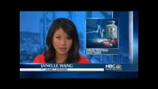 KNTV NBC-TV Bay Area: Drug Testing Doctors? Prop 46 in CA