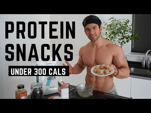 FAST Protein Snacks / Under 300 Calories