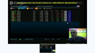 Live FOREX Scalping Session today ON-AIR 2012-10-17 ON-AIR, On the Best FOREX Trading Platform