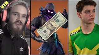 Pewdiepie Doesn't Like Fortnite, Overwatch Staged Reality TV Show, 20 Dollar Digital Skin