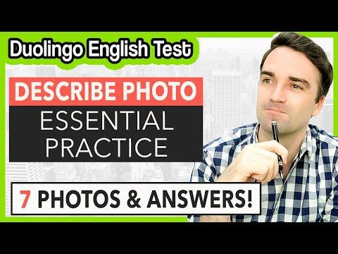 Duolingo English Test Practice - Write About The Photo