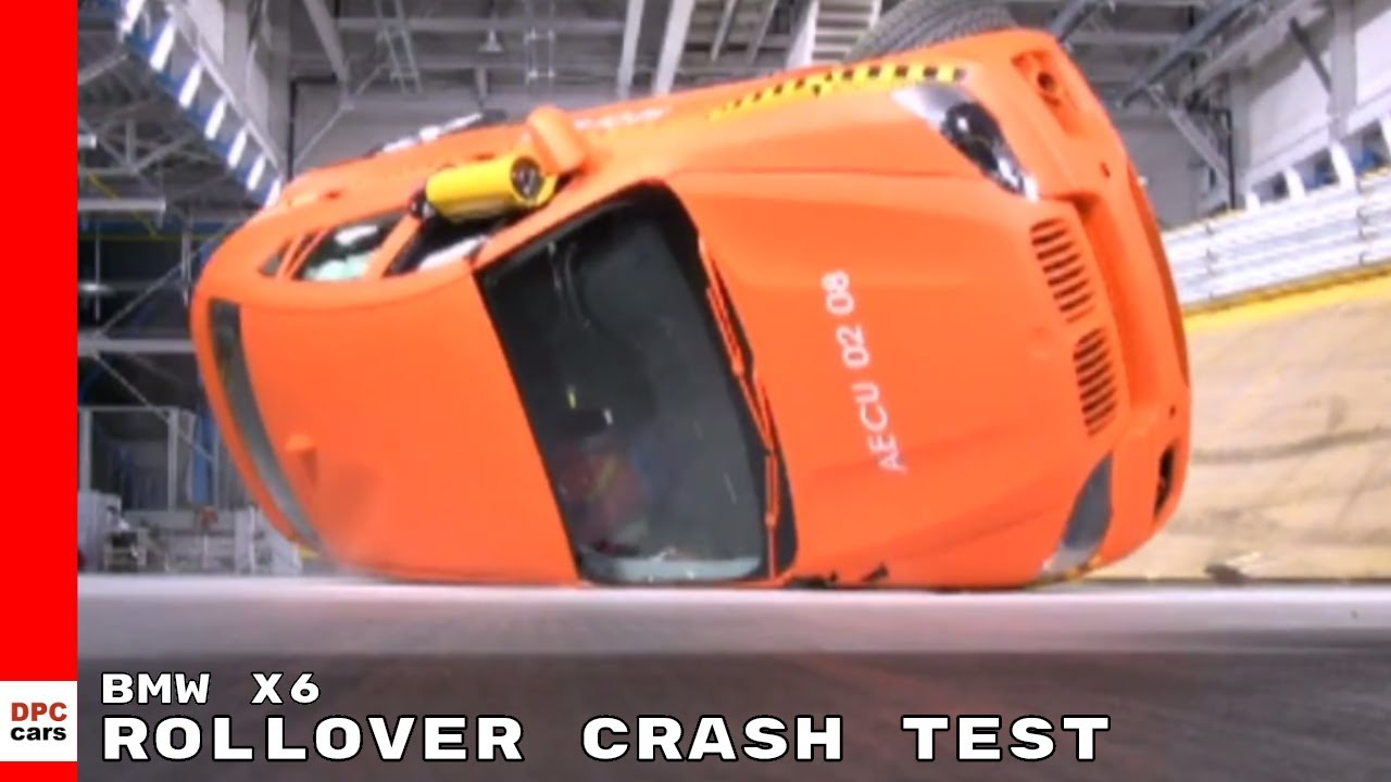 Bmw X6 Rollover Crash Test Youtube