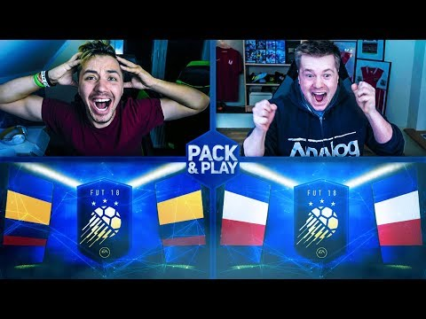😱 REWANŻ ZA TOTY! 😎 PACK & PLAY (vs. KOZA) FIFA 18 / DEV