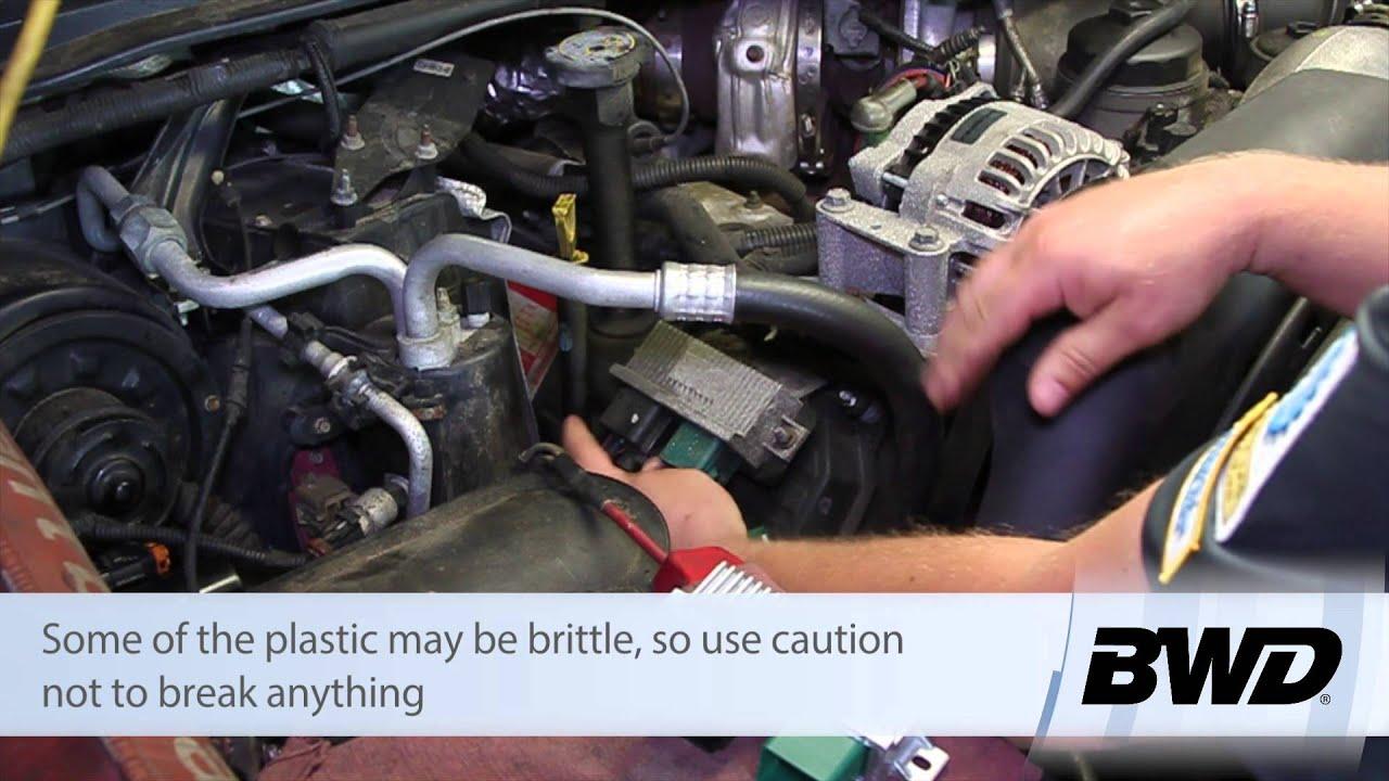 Lariat Fuse Diagram Ford 6 0 Powerstroke Glow Plug Control Module Replacement