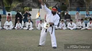 ROTATE FIRE STICK MUSHTAQ AHMED DIRECTOR BURSUN ACADEMY OF MARTIAL ARTS 03212334450# 20 جنوری 2019ء