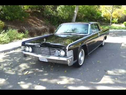 1965 Lincoln Continental With Tuxedo Interior Youtube