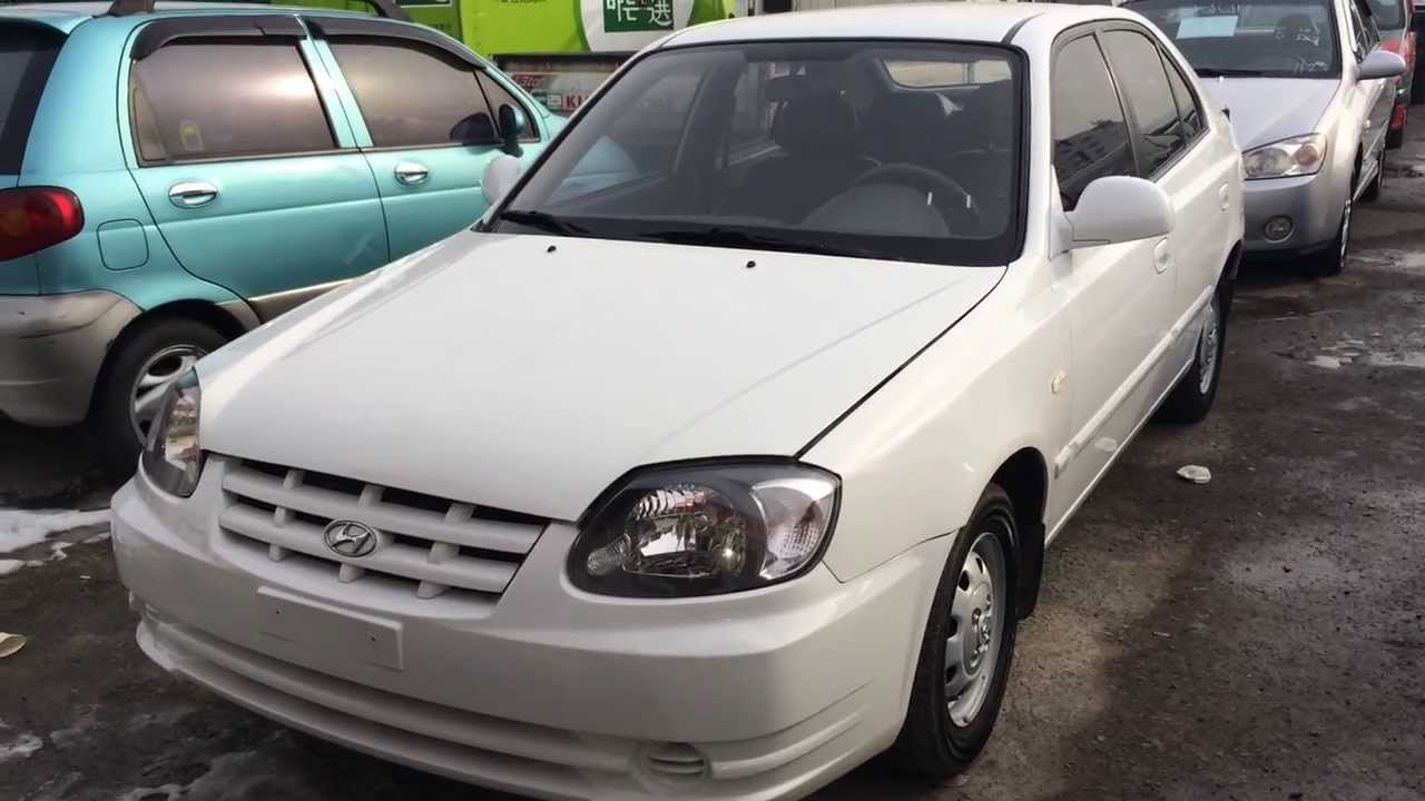 Hyundai Verna Accent 2005 Year Youtube