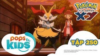 Pokémon Tập 250 - Trận So Tài Biểu Diễn Tuyệt Đẹp - Hoạt Hình Tiếng Việt Pokémon S18 XY