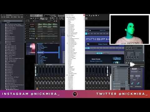 Nick Mira Makes Beats For Iann Dior (Live 2.2.19)