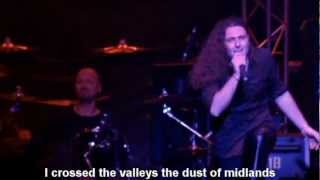 Rhapsody of Fire - Emerald Sword (lyrics)