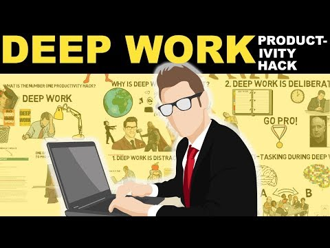 Deep Work Explained   How To Be Super Productive   #1 Productivity Hack