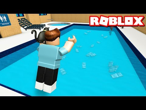 SWIM FOR MONEY IN ROBLOX