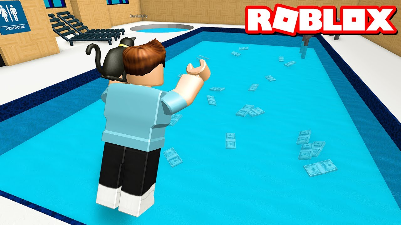 Swim for money in roblox youtube - Get a swimming pool full of liquor ...