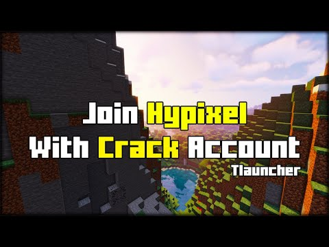 How To Join Hypixel with Crack Account (Tlauncher) [2021]