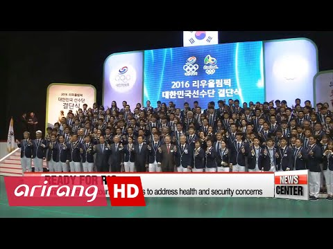 Team Korea honored at official launch ahead of Rio Olympics