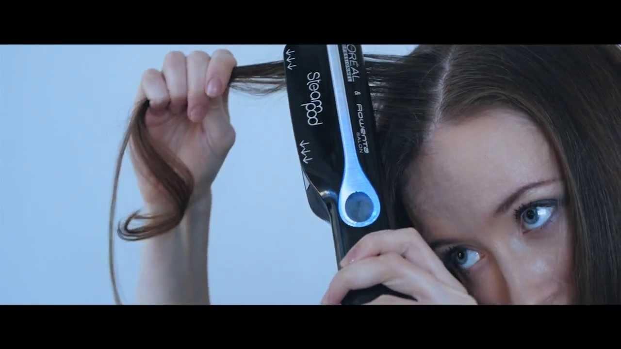 Для укладки волос на пару
