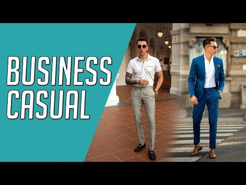 How to Wear Business Casual || 4 Looks || Gent's Lounge 2019
