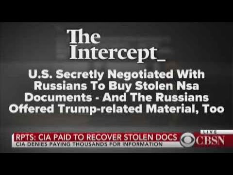 Reports: U.S. paid to recover stolen documents