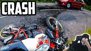 KRANKE MOTORRAD UNFÄLLE | Moji reagiert
