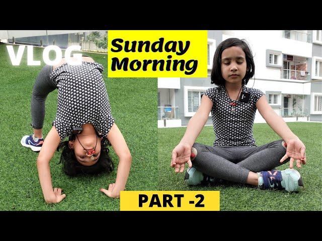 Sunday Morning Vlog part -2 / #learnwithpari #Vlog