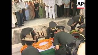 Funeral of Indian embassy Defence attache killed in Kabul blast