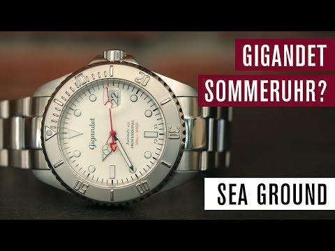 Gigandet Sea Ground G2-015 | Perfekte Sommeruhr | Test | Review