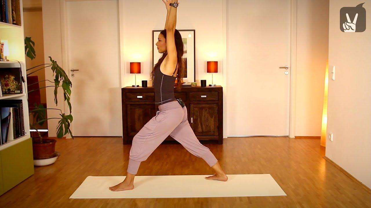 yoga fit in 5 anti burnout bungen f r zu hause youtube