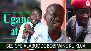 Besigye alabudde Bobi Wine ku buzibu bwayolekedde