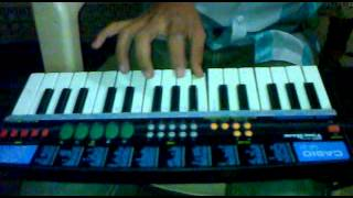 hindi nagin been music on piano