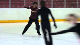 Уроки фигурного катания 28.12.13