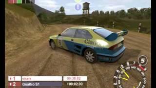 RalliSport Challenge (PC, 2002) Gameplay / Pac SS-4 / Saab 9-3 T16