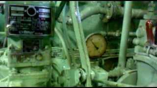 operation of the main engine and generator MAKITA