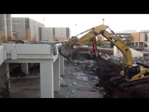 BYU Law School Patio Demolition