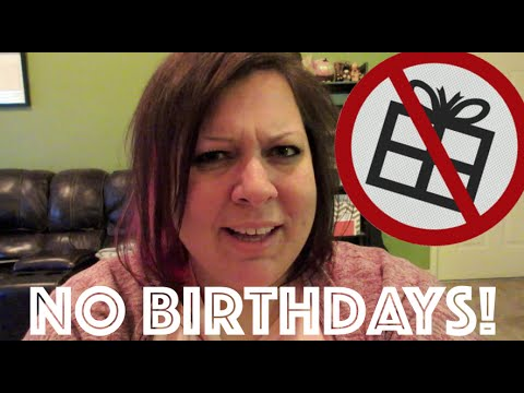 WHY I DON'T CELEBRATE MY BIRTHDAY || WatersWife