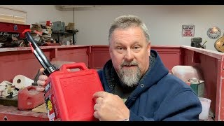 This is the Best Plastic Gas Can IN THE WORLD!!!