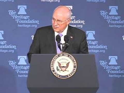 Cheney on liability protection for telecom companies