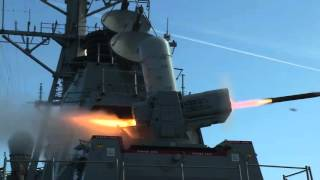 USS Porter Conducts SeaRAM Test Fire