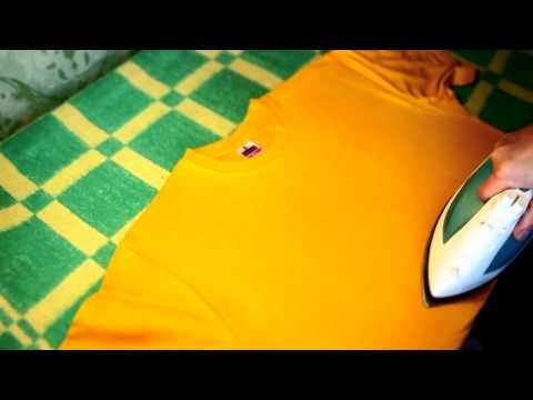 Как быстро погладить футболку * How fast ironing shirt