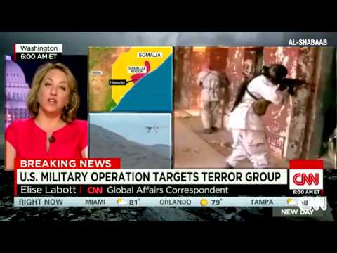 U.S. military operation targets terror group in Somali