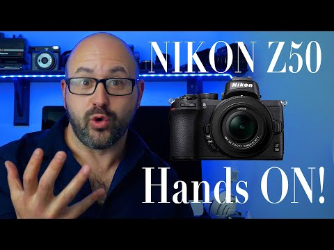 Nikon Z50 hands on first impressions, is it any good?