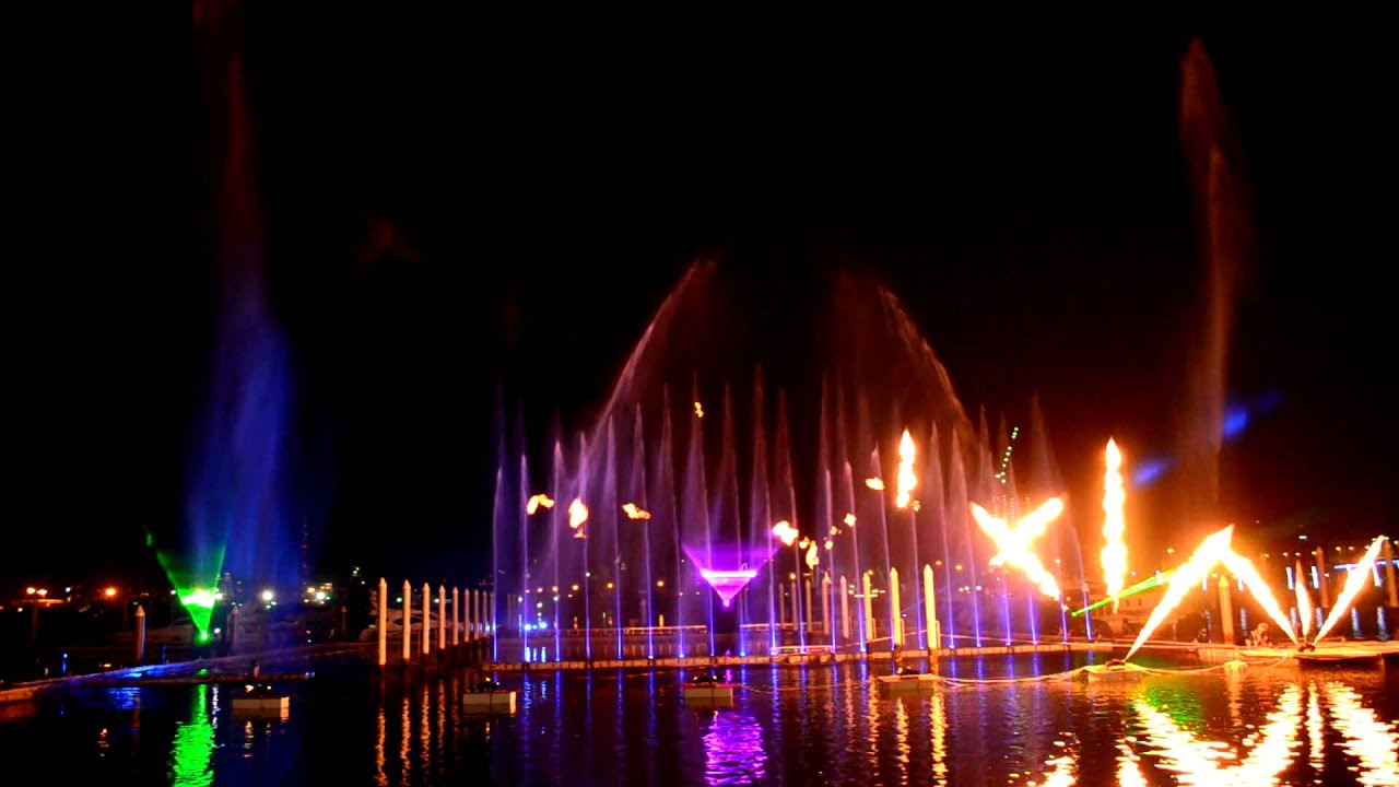 Water Wallpaper Hd Live 41 Uae National Day Light And Water Show Dubai