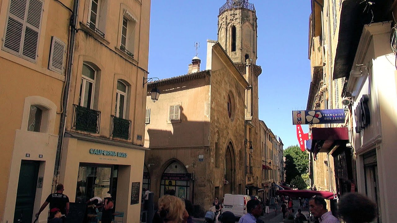 aix en provence sightseeing tour provence alpes c te d 39 azur france hd videoturysta youtube. Black Bedroom Furniture Sets. Home Design Ideas