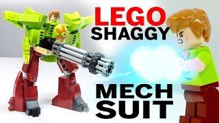 Build a LEGO Shaggy Mech Suit!
