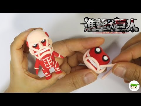Making Attack On Titan/Clay Tutorial/air Dry Clay/進撃の巨人