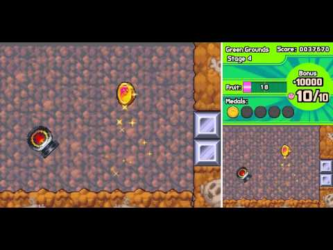 Kirby:  Mass Attack - Level 1:  Green Grounds