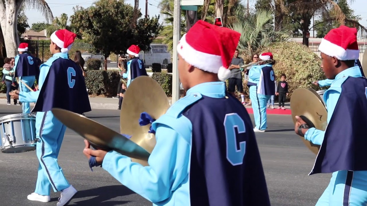 Compton Christmas Parade 2020 Compton High Marching Band Christmas Parade 2017   YouTube