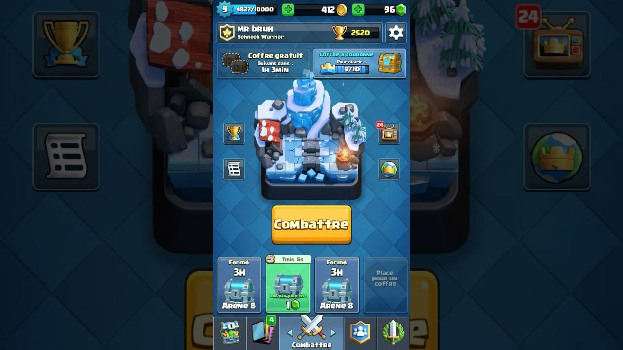 Meilleur deck arene 7 8 9 clash royal youtube for Meilleur deck arene 4