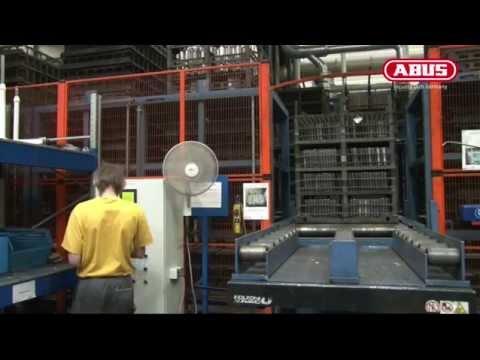 Производство и тестирование замков ABUS